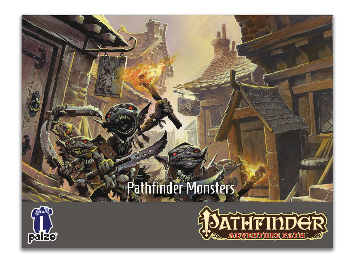 Pathfinder Monsters