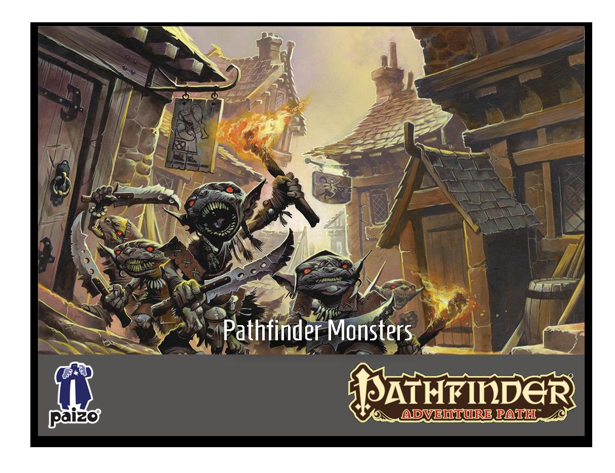 Pathfinder Monsters