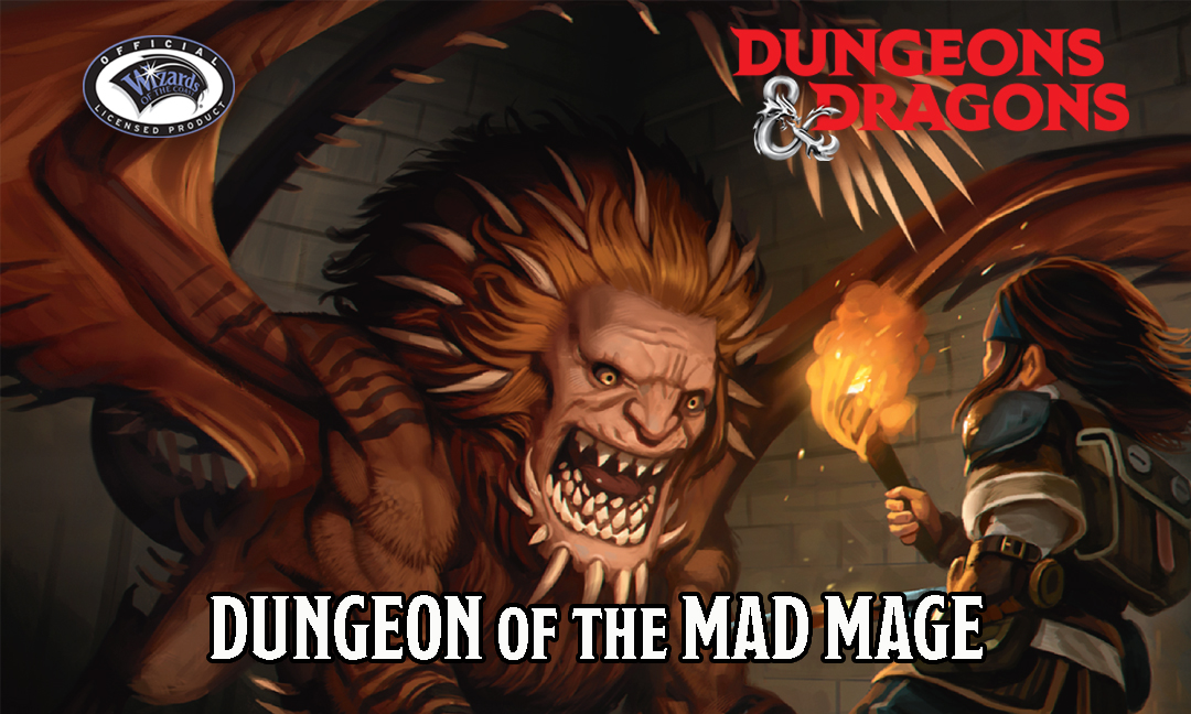 Dungeons & Dragons sounds to the max