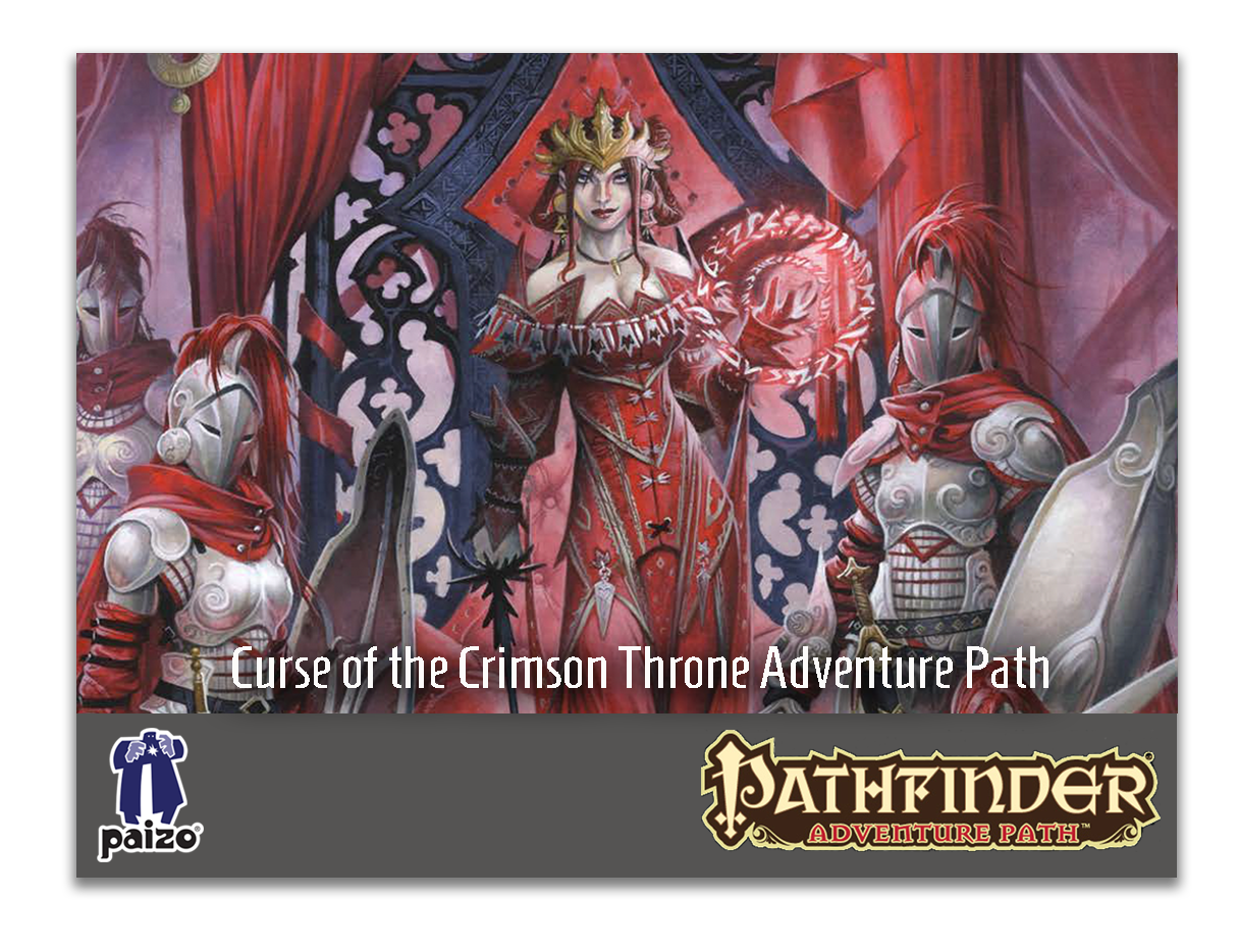 Curse of the Crimson Throne Adventure Path SoundPacks